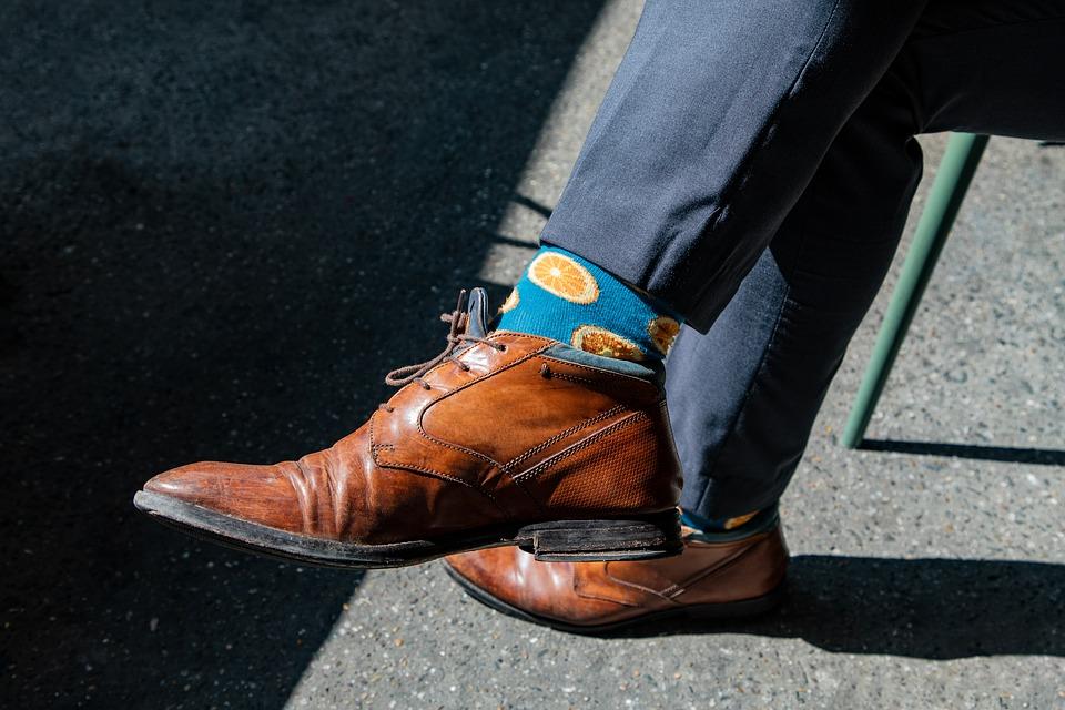 opvallende sokken